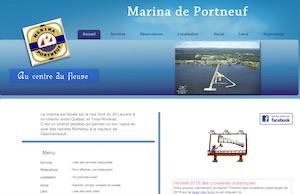 Marina de Portneuf - Capitale-Nationale, Ville de Portneuf (V)