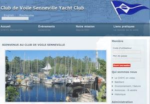 Club de voile Senneville Yacht Club - Montréal, Senneville