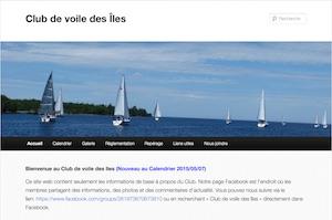 Club de voile des Îles - Saguenay-Lac-Saint-Jean, Saint-Gédéon (Lac-St-Jean)