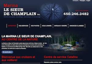 Marina Sieur de Champlain - Montérégie, Lacolle