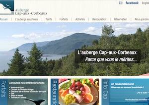 Auberge Cap-aux-Corbeaux - Charlevoix, Baie-Saint-Paul