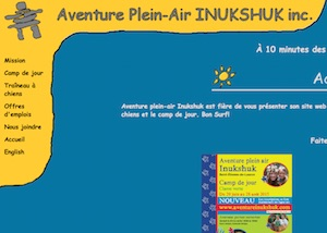 Aventure Plein-Air INUKSHUK INC. - Chaudière-Appalaches, Lévis (Lévis) (Les Chutes-de-la-Chaudière-Ouest)