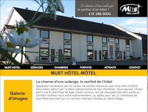 Must hôtel-motel - Capitale-Nationale, Saint-Marc-des-Carrieres