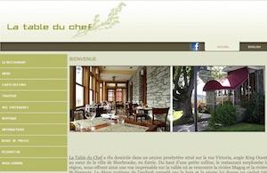 La Table du Chef - Estrie / Canton de l'est, Sherbrooke