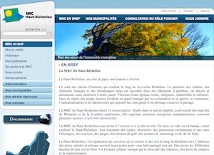 MRC du Haut-Richelieu - Montérégie, Saint-Jean-sur-Richelieu