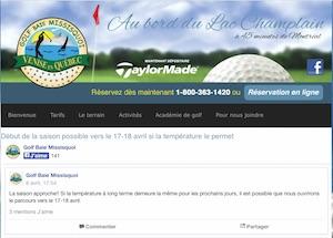 Club de Golf Baie Missisquoi - Montérégie, Venise-en-Québec