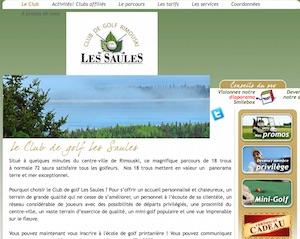 Le club de Golf des Saules - Bas-Saint-Laurent, Rimouski