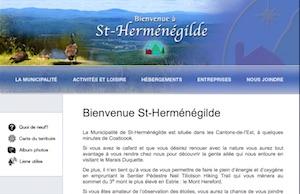 Municipalité de Saint-Herménégilde - Estrie / Canton de l'est, Saint-Herménégilde