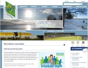 Municipalité de Lanoraie - Lanaudière, Lanoraie