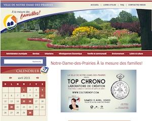 Ville de Notre-Dame-des-Prairies - Lanaudière, Notre-Dame-des-Prairies