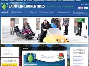 Ville de Saint-Lin-Laurentides - Lanaudière, Saint-Lin Laurentides