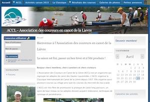 L'Association des coureurs en canot de la Lièvre - Laurentides, Ferme-Neuve