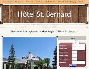 L'Hôtel St. Bernard - Montérégie, Saint-Bernard-de-Lacolle