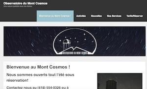 Corporation de l'observatoire du Mont Cosmos - Chaudière-Appalaches, Saint-Elzéar (Beauce)