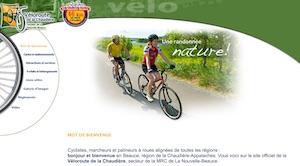 Véloroute de la Chaudière - Chaudière-Appalaches, Sainte-Marie (Beauce)