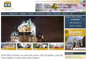 Auberge Aux Deux Lions - Capitale-Nationale, Ville de Québec (V)