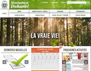 Municipalité de Duhamel - Outaouais, Duhamel