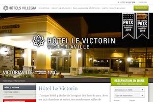 Hotel Le Victorin - -Centre-du-Québec-, Victoriaville
