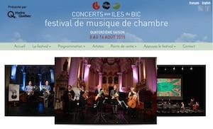 Concerts aux Îles du Bic - Bas-Saint-Laurent, Rimouski