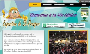 Exposition régionale de Saint-Prosper - Chaudière-Appalaches, Saint-Prosper (Beauce)