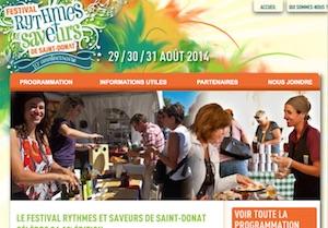 Festival Rythmes et Saveurs de Saint-Donat - Lanaudière, Saint-Donat-de-Montcalm
