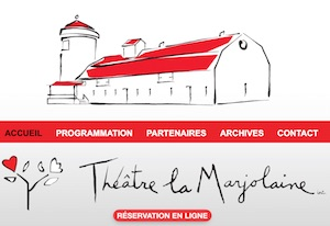 Théâtre de la Marjolaine - Estrie / Canton de l'est, Eastman