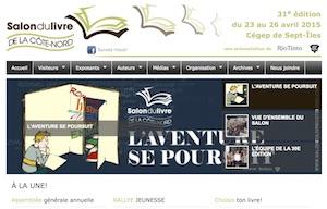 Salon du livre de la Côte-Nord - Côte-Nord / Duplessis, Sept-Îles