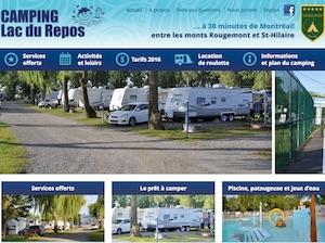 Camping Lac du Repos - Montérégie, Saint-Jean-Baptiste-de-Rouville