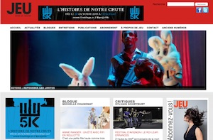 Cahiers de Théâtre Jeu - Montréal, Ville de Montréal
