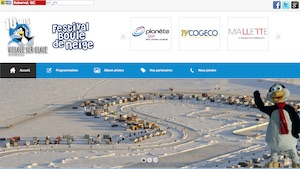 Village sur glace de Roberval - Saguenay-Lac-Saint-Jean, Roberval (Lac-St-Jean)