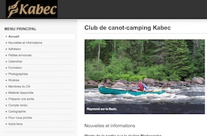 Club de canot-camping Kabec inc. - Outaouais, Gatineau