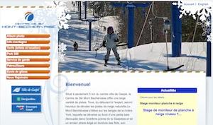Mont-Béchervaise (Centre de ski ) - Gaspésie, Gaspé