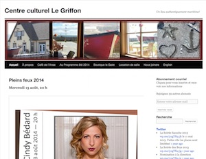 Centre culturel Le Griffon (Café de L'Anse) - Gaspésie, Ville de Gaspé