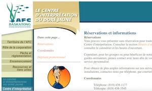 Centre d'interprétation du doré - Outaouais, Grand-Remous
