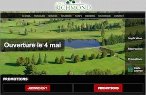 Club de golf Richmond - Melbourne - Estrie / Canton de l'est, Richmond (Melbourne)