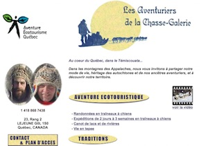 Les Aventures de la Chasse Galerie - Bas-Saint-Laurent, Lejeune