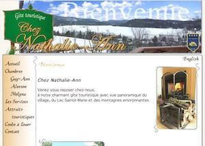 Gîte Chez Nathalie-Ann - Outaouais, Lac-Sainte-Marie