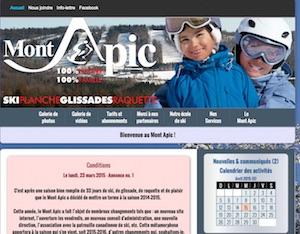 Mont Apic (Centre de ski) - -Centre-du-Québec-, Saint-Pierre-Baptiste