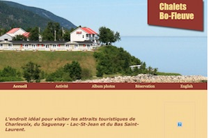 Chalet Motel Bo-Fleuve - Charlevoix, Saint-Siméon