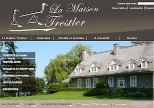 Galerie Antoine-Aimé-Dorion, Maison Trestler - Montérégie, Vaudreuil-Dorion