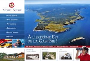 Motel Suisse (Pointe-Saint-Pierre) - Gaspésie, Percé (Saint-Georges-de-Malbaie)