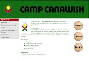 Camp Canawish - Bas-Saint-Laurent, Rivière-Ouelle