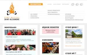 Camp Musical Saint-Alexandre - Bas-Saint-Laurent, Saint-Alexandre-de-Kamouraska