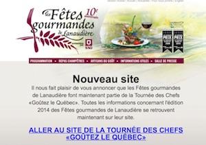 Les Fêtes Gourmandes de Lanaudière - Lanaudière, Charlemagne