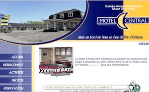 Motel Central - Capitale-Nationale, Sainte-Anne-de-Beaupré