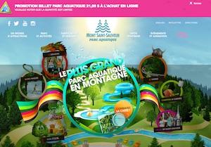 Parc aquatique Mont Saint-Sauveur - Laurentides, Saint-Sauveur