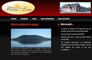 Motel Beau-Lieu - Bas-Saint-Laurent, Témiscouata-sur-le-Lac (Cabano)