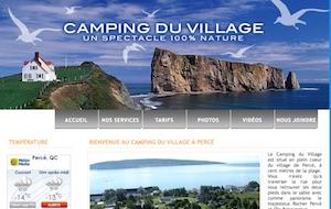 Camping du Village - Gaspésie, Percé
