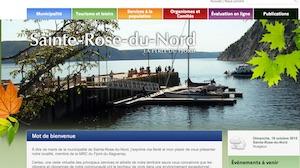 Municipalité de Sainte-Rose-du-Nord - Saguenay-Lac-Saint-Jean, Sainte-Rose-du-Nord (Saguenay)