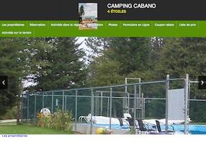 Camping Cabano - Bas-Saint-Laurent, Témiscouata-sur-le-Lac (Cabano)